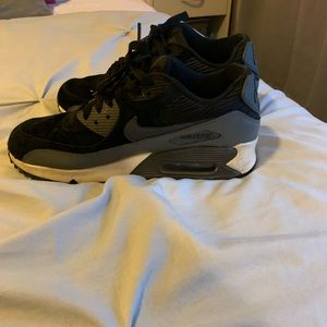 black Suede nike air max